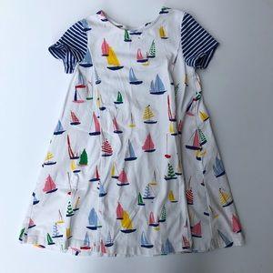 Hanna Andersson | Sailboat Summer Stripe Dress